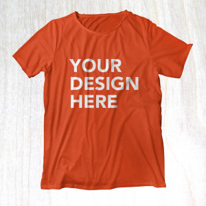 Your shirt with any design you like